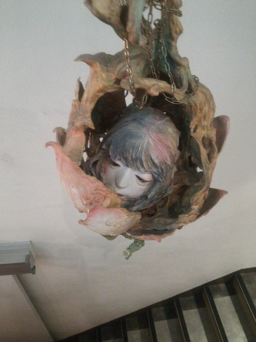 ヴァニラ画廊にある少女の首